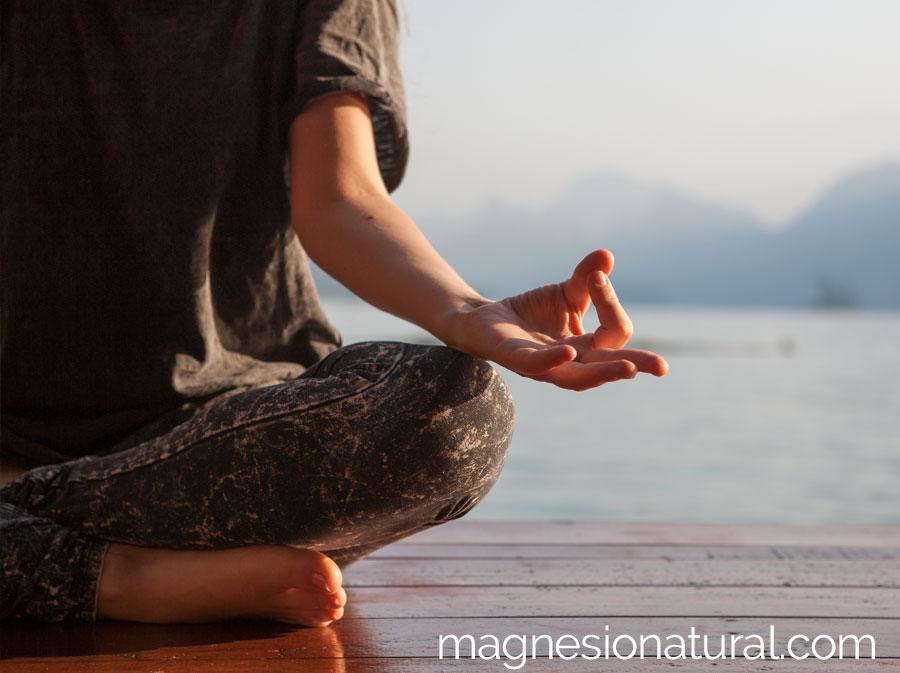 El efecto relajante del magnesio natural