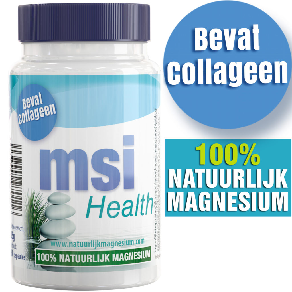 MSI Health - 100% Natuurlijk Magnesium bevat Collageen