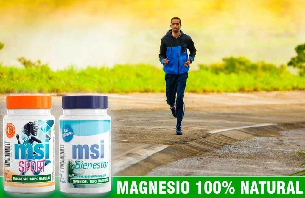 MSI magnesio natural pack 1+1