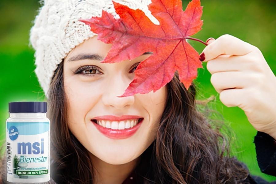 Colageno magnesio natural para la piel