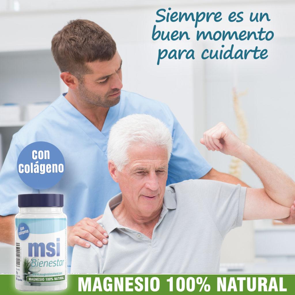 Magnesio Natural ayuda a prevenir las fracturas en los ancianos