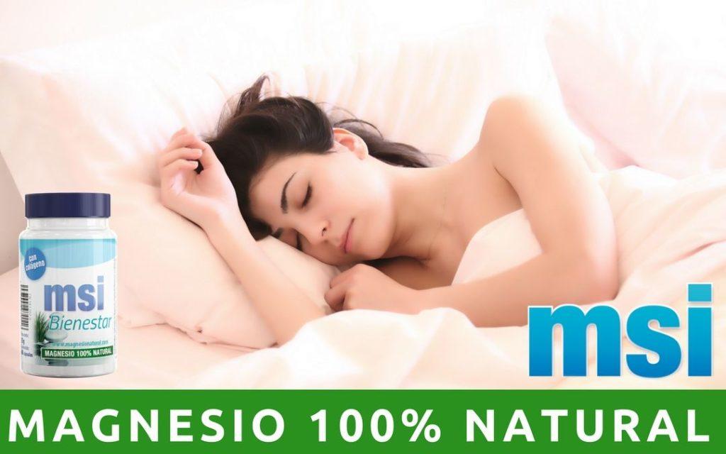 Lo bueno que es tomar magnesio por la noche. Comprar Magnesio.