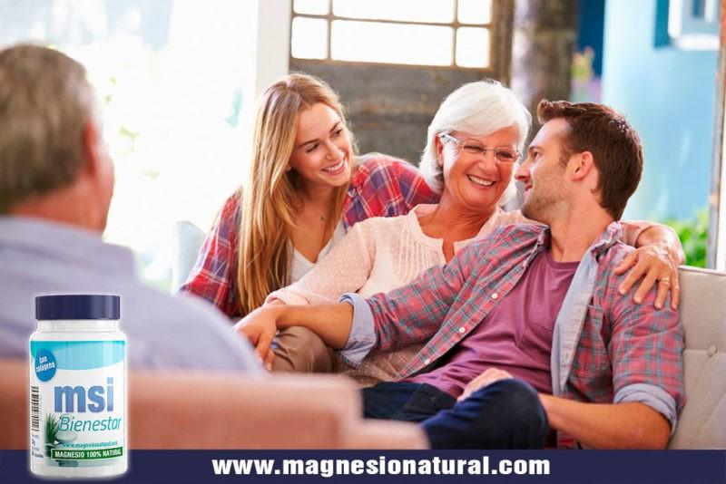 MSI Bienestar. Magnesio Natural con Colágeno | 60 cápsulas