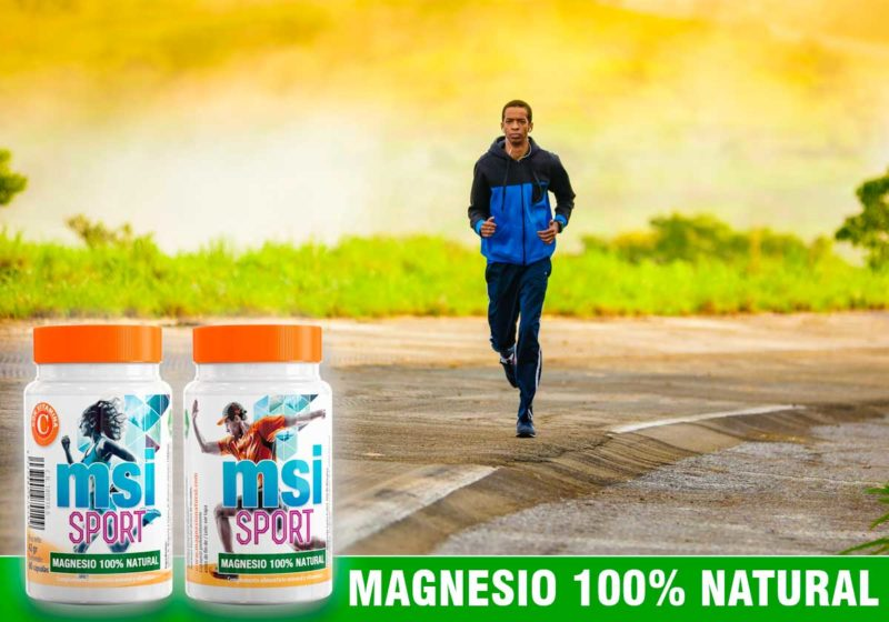 Magnesio Natural con Vitamina C | El Magnesio tiene una importancia esencial en la prevención de lesiones traumáticas y musculares.