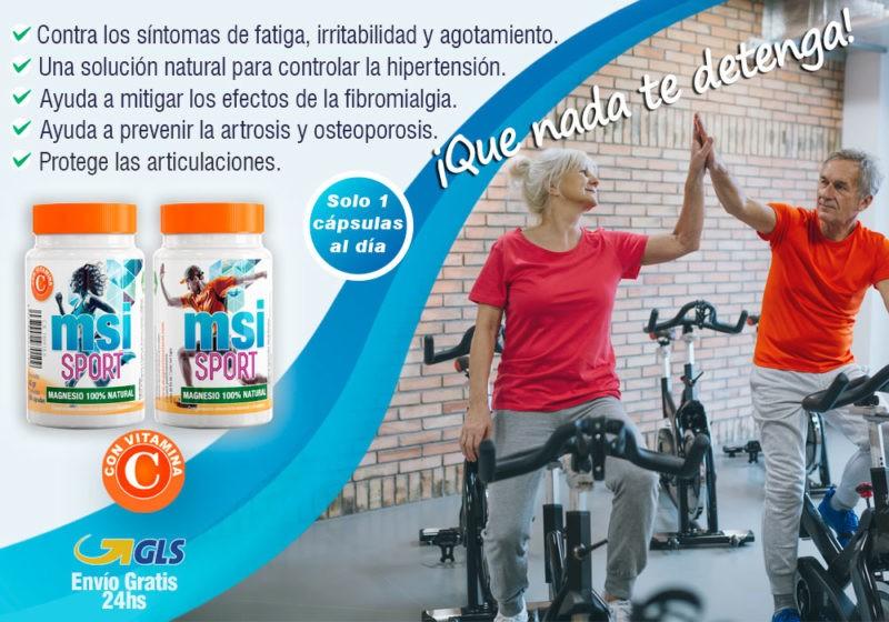 MSI Magnesio Natural - Beneficios del Magnesio