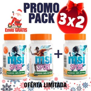 MSI Sport Magnesio Natural - Promo Pack 3x2