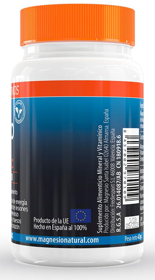 MSI Sport - Magnesio Natural con Vitamina C