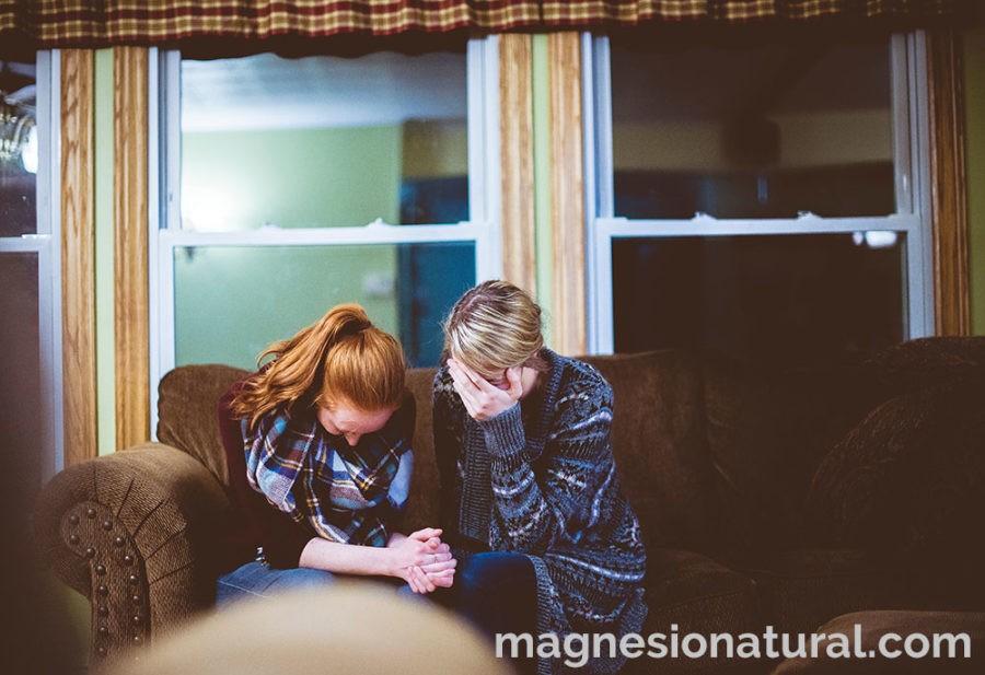 Magnesio para prevenir los síntomas de ansiedad y la depresión