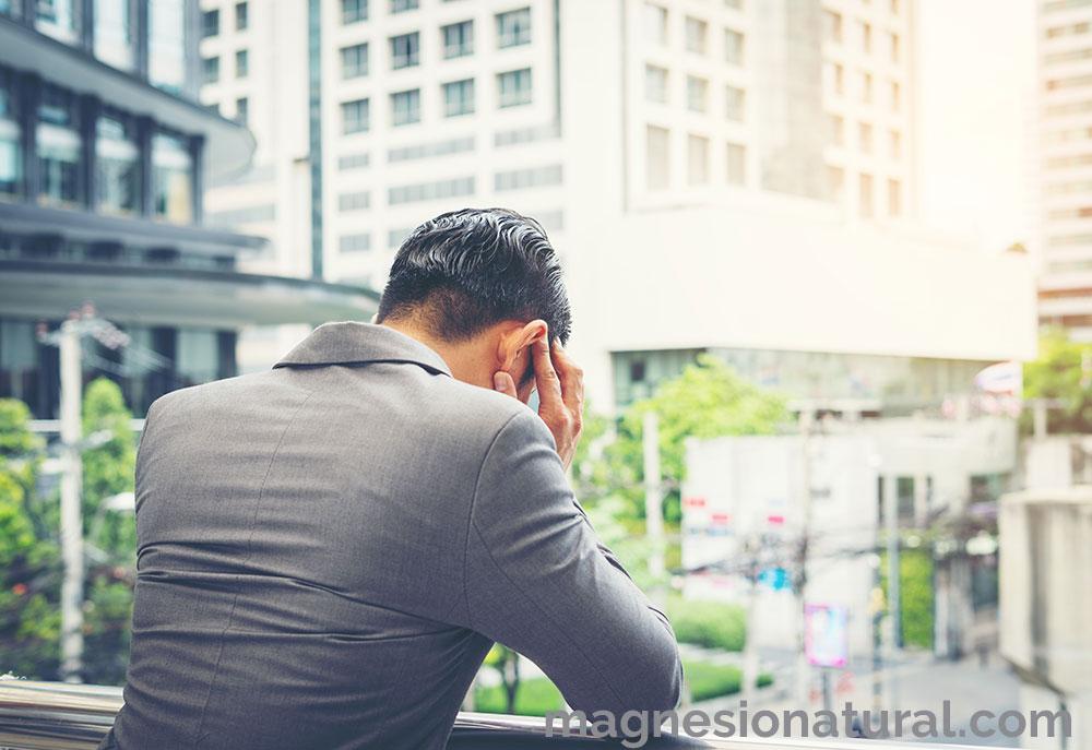 magnesio contra el estrés y la ansiedad