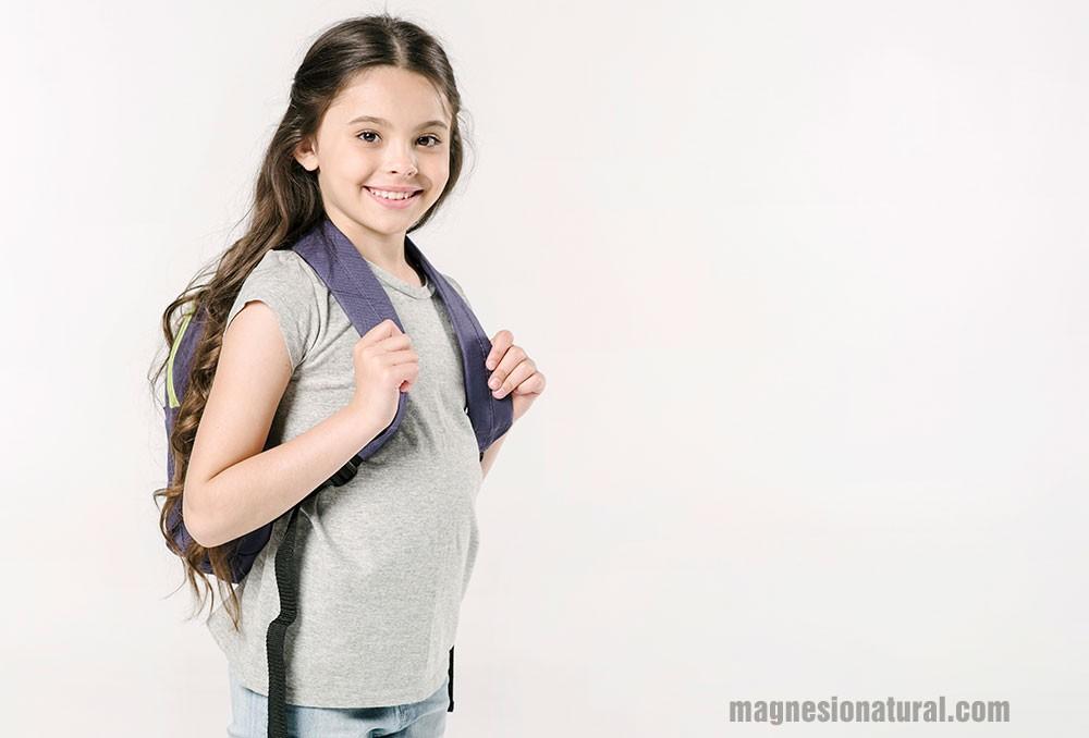 Magnesio una necesidad para niños en edad de crecimiento