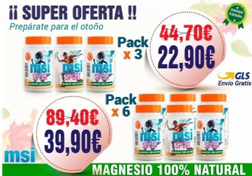 MSI Magnesio Natural - El mejor Magnesio