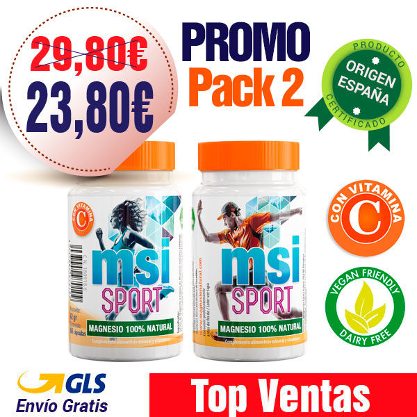 Magnesio Natural con Vitamina C