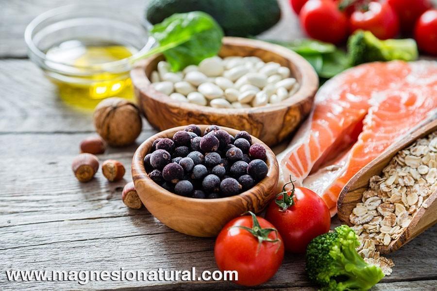 Algunos alimentos con buenas fuentes de magnesio