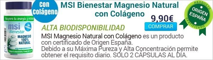 Colágeno con Magnesio Oferta 9,90€ Comprar