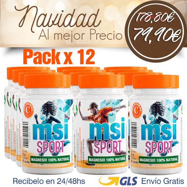 Magnesio con Vitamina C - Pack 12 Unidades