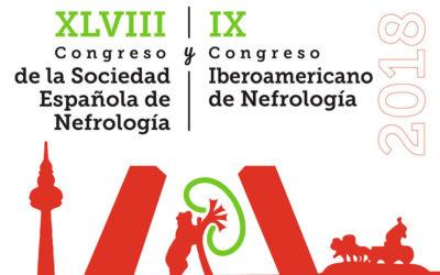 Del 16 al 19 de noviembre se realizará el XLVIII Congreso de la Sociedad Española de Nefrología