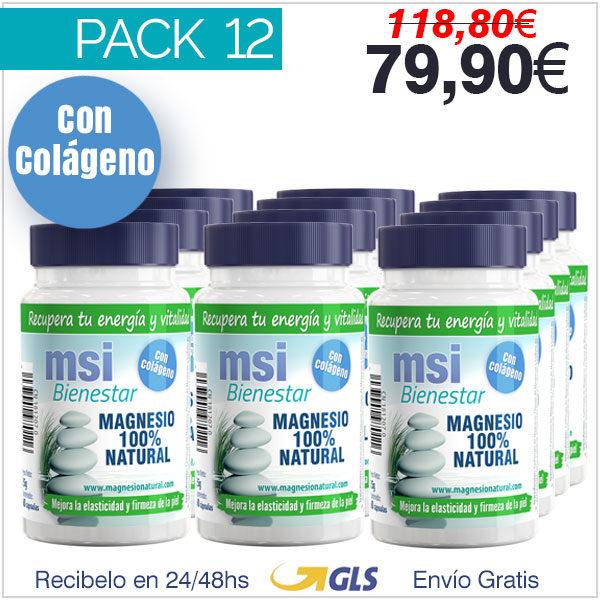 Colágeno con Magnesio - Pack 12 Unidades