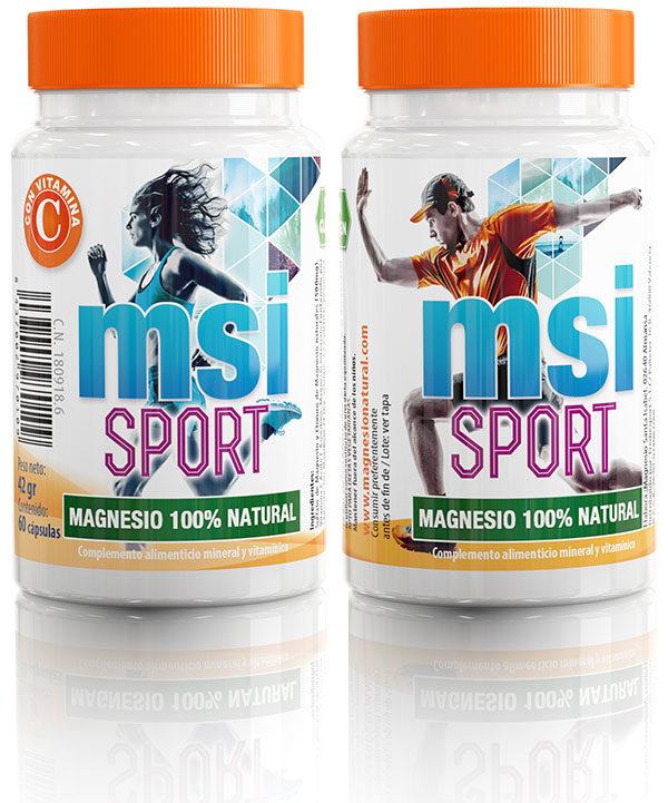 MSI Sport Magnesio Natural con Vitamina C