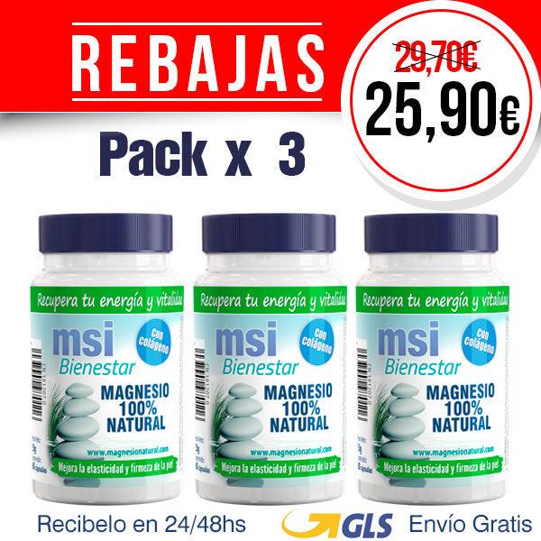 Colágeno con Magnesio - Pack 3 Unidades