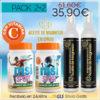 Aceite de Magnesio en Spray + MSI Sport Magnesio Natural con Vitamina C   PACK 2+2