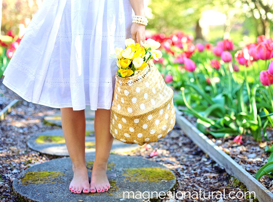Magnesio para recuperar la vitalidad en primavera