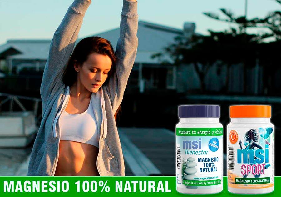 MSI Magnesio Natural. Preguntas frecuentes. Cantidad diaria recomendada de magnesio