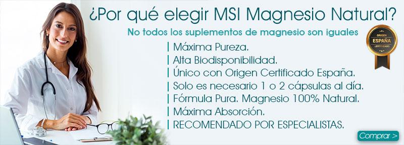 Comprar el mejor magnesio. Colágeno con Magnesio. Cloruro de magnesio. Aceite de Magnesio